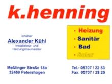 Henning Heizung und Sanitär