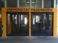 Die Universität Paderborn feiert ihr 40 jähriges Jubiläum.