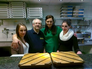 Tochter Ilena, Chef Peppino, Sabrina, Tochter Daniela