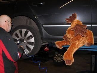 Bongo Reifenwechsel