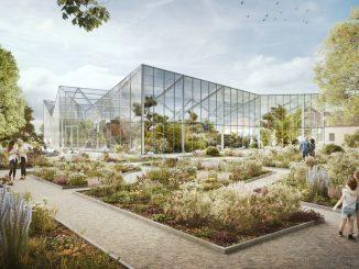Herrenhäuser Gärten: neues Schauhaus für den Berggarten