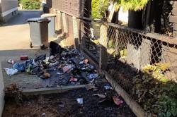 Nächtliche Brandserie in Minden:  Sechs Feuer halten Einsatzkräfte in Atem