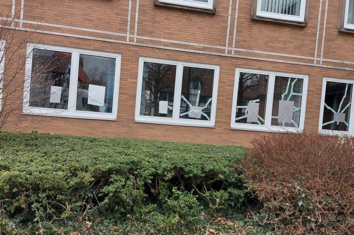 Petershäger Scherbengericht - Fensterdetail