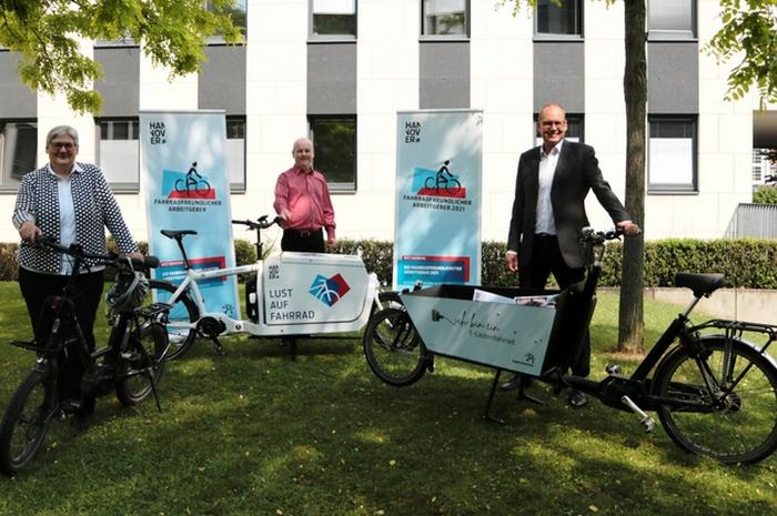 Wettbewerb: Die fahrradfreundlichsten Arbeitgeber