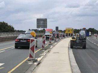 Grunderneuerung der Gustav-Heinemann-Brücke