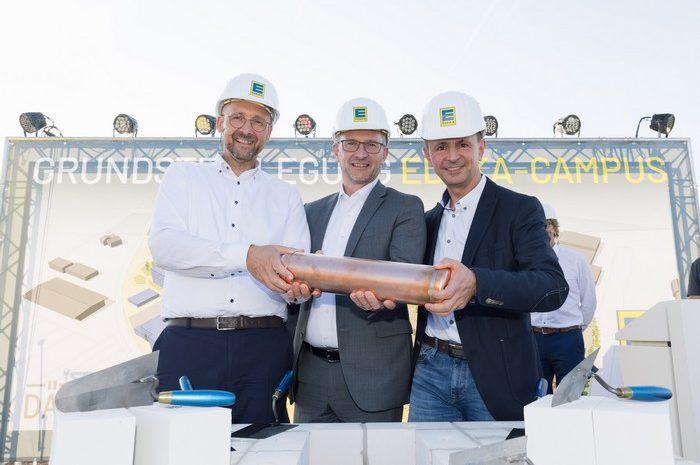 """EDEKA legt Grundstein für neuen """"EDEKA-Campus"""" in Minden"""
